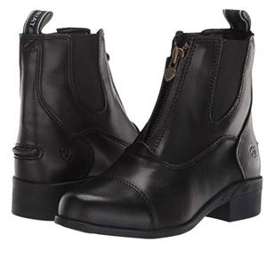 Ariat big girls leather Devon IV Paddock boot sz 2